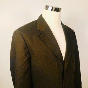Hugo Boss Mens 40S Einstein Omega Sport Coat Brown